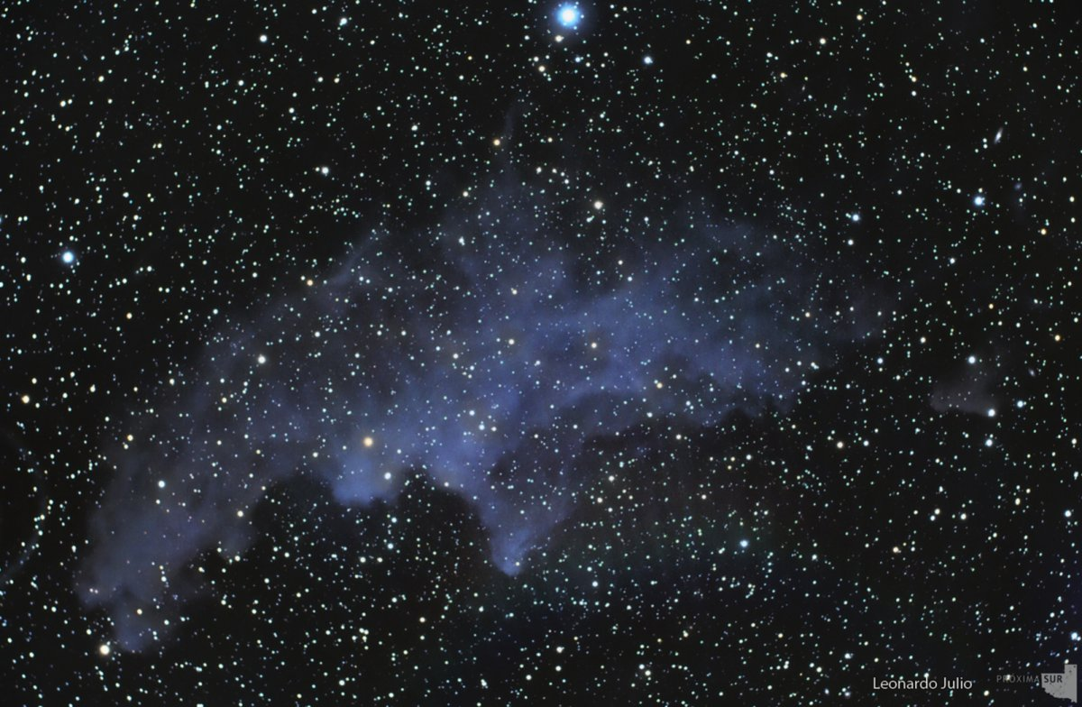 NGC 1909 Witch Head Nebula