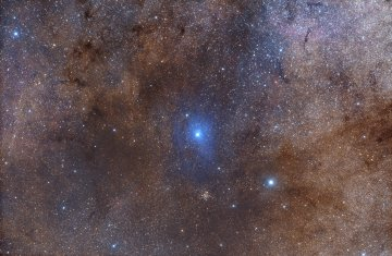 IC 1287 Blue Reflection Nebula