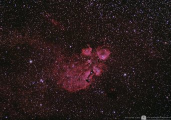 NGC 6334  The Cats Paw Nebula