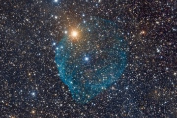 SH2-308 Bubble arround the Wolf-Rayet-Star