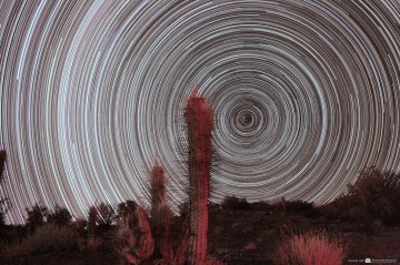Star Trail Chile